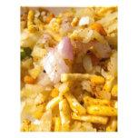Artículo indio de los alimentos de preparación ráp plantillas de membrete