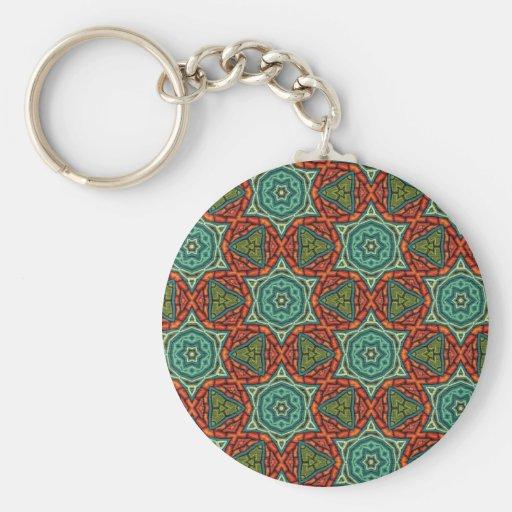 Artículo multicolor del regalo del modelo llavero redondo tipo pin