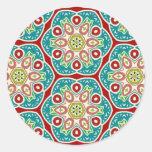 Artículo multicolor del regalo del modelo etiquetas redondas
