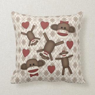 Artículos adorables de la decoración del hogar del almohadas