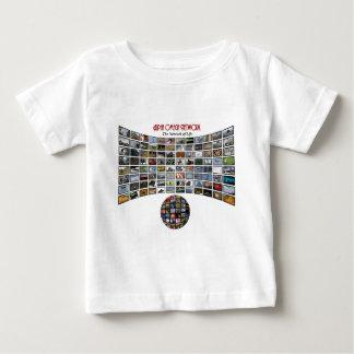 Artículos alfa del logotipo de la red de Omega Camisas