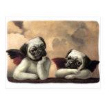 Artículos angelicales del regalo de la querube del tarjeta postal