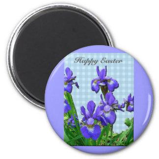 Artículos coordinados Pascua felices del iris sibe Imán Redondo 5 Cm