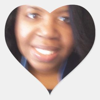Artículos de almacén de la campaña de SherleneIsIt Pegatina En Forma De Corazón