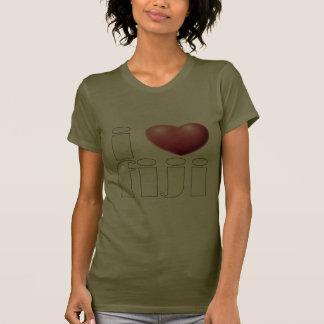Artículos de Fiji del amor Camiseta