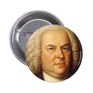 Artículos de Johann Sebastian Bach Pin Redondo De 2 Pulgadas