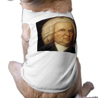 Artículos de Johann Sebastian Bach Playera Sin Mangas Para Perro