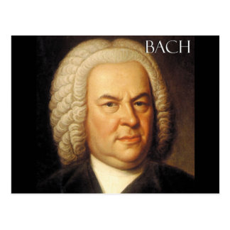 Artículos de Johann Sebastian Bach Tarjetas Postales