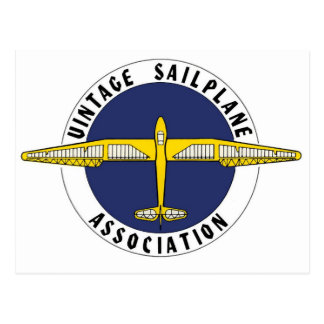 Artículos de la asociación de Sailplane del vintag Tarjeta Postal