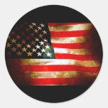 Artículos de la bandera americana etiqueta