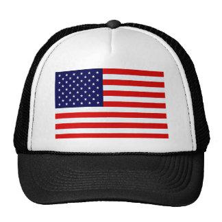 Artículos de la bandera americana gorro de camionero