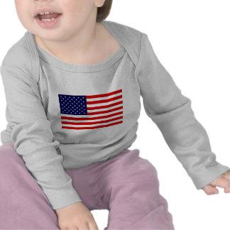 Artículos de la bandera americana camisetas
