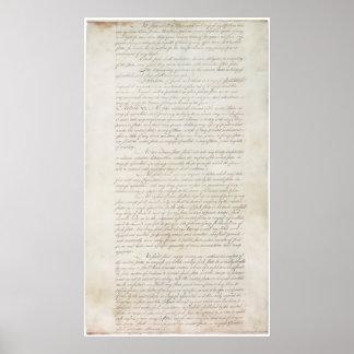 Artículos de la confederación del States_pg2 unido Poster