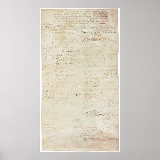 Artículos de la confederación del States_pg6 unido Póster