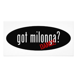 Artículos de la danza de Milonga - milonga consegu Plantilla Para Tarjeta De Foto