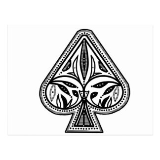 Artículos de la espada del póker del personalizar postal