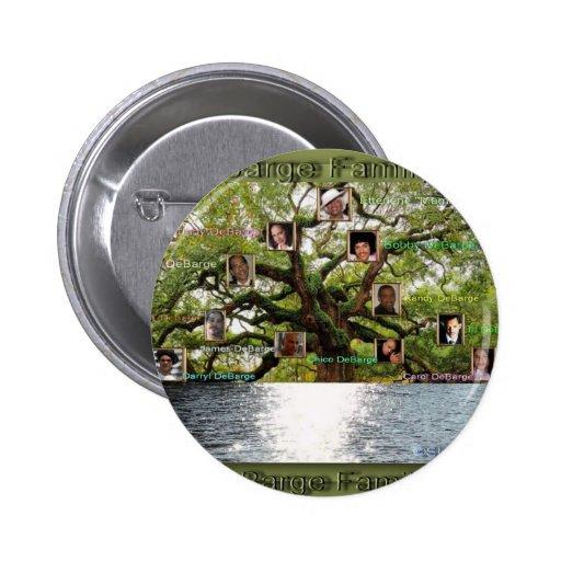 Artículos de la especialidad del árbol de familia  pin redondo de 2 pulgadas