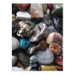 Artículos de la pila de la roca tarjetas postales