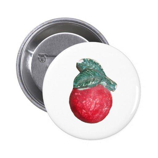 artículos de la placa de Apple del vintage de los  Pin Redondo De 2 Pulgadas