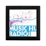 Artículos de la radio 1 de la choza de la música cajas de regalo