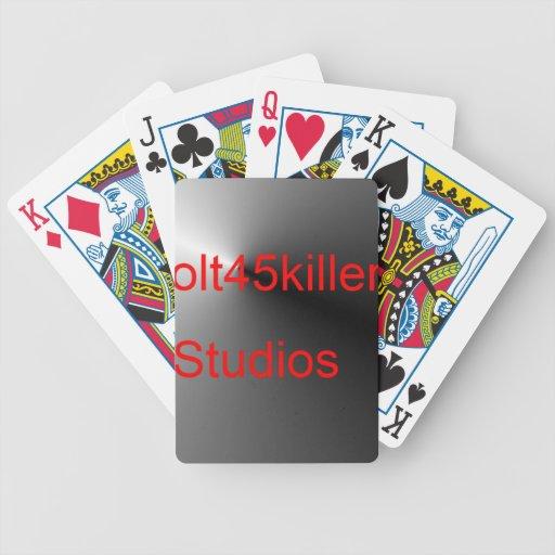 Artículos de los estudios de Colt45kiler Baraja De Cartas