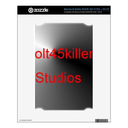 Artículos de los estudios de Colt45kiler NOOK Skin