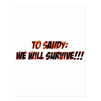 Artículos de Sandy del huracán Postal