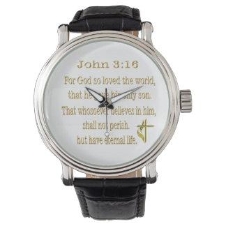 Artículos del 3:16 de Juan Reloj De Mano