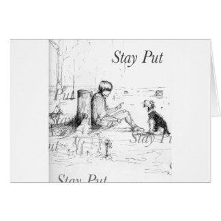 Artículos del amante del perro tarjeta de felicitación