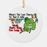 Artículos del día de St Patrick Ornamento De Navidad