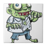 Artículos del dibujo animado del zombi tejas  ceramicas