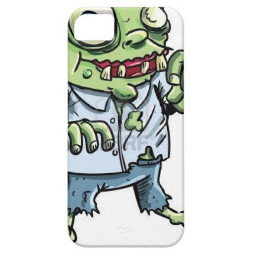 Artículos del dibujo animado del zombi iPhone 5 Case-Mate fundas