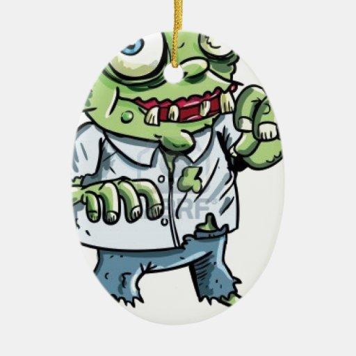 Artículos del dibujo animado del zombi ornato