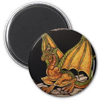 Artículos del dragón del bebé imán de frigorifico