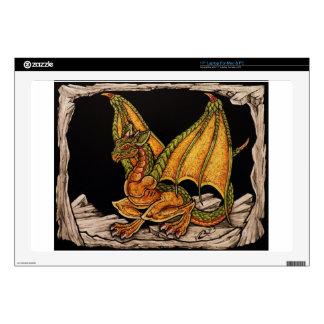 Artículos del dragón del bebé skins para 43,2cm portátil