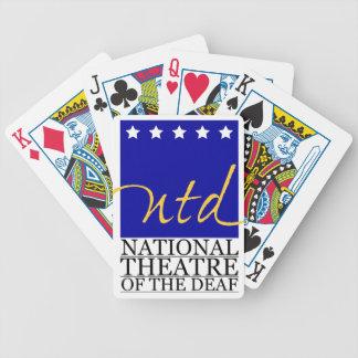 Artículos del logotipo de NTD Baraja De Cartas