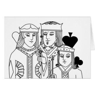 Artículos del póker del juego de tarjeta del retra