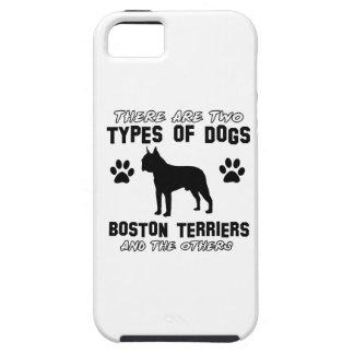 Artículos del regalo de BOSTON TERRIER iPhone 5 Fundas