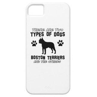 Artículos del regalo de BOSTON TERRIER iPhone 5 Case-Mate Coberturas