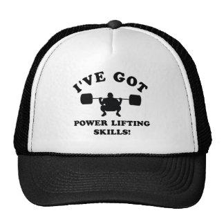 artículos del regalo de la elevación del poder gorras