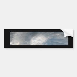 Artículos del regalo de la nube de Illlusionary Etiqueta De Parachoque