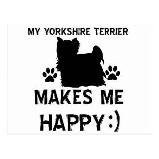 Artículos del regalo de Yorkshire Terrier Postal
