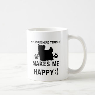 Artículos del regalo de Yorkshire Terrier Taza Clásica