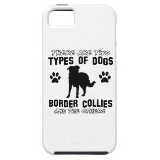 Artículos del regalo del border collie iPhone 5 cárcasas