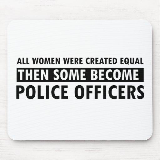 Artículos del regalo del oficial de policía mousepad