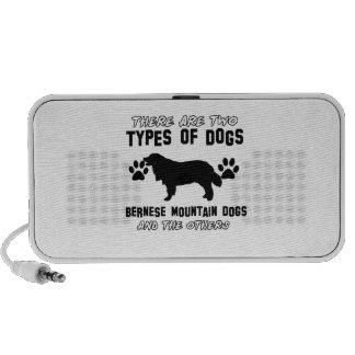 artículos del regalo del perro de montaña bernese notebook altavoz