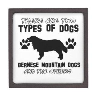 artículos del regalo del perro de montaña bernese caja de recuerdo de calidad