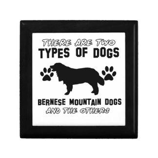 artículos del regalo del perro de montaña bernese caja de recuerdo