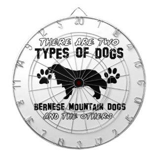 artículos del regalo del perro de montaña bernese tablero dardos
