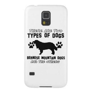 artículos del regalo del perro de montaña bernese funda de galaxy s5